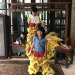 During CNY, the kids caught a viral fever