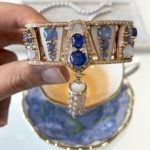 Simone Jewels star sapphire bangle