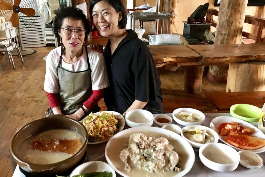 Samgyetang in Chungju City
