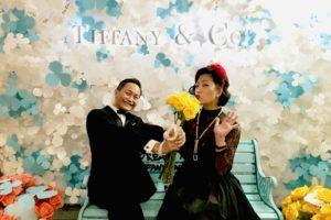 The Singapore Tatler Ball Tiffany photobooth