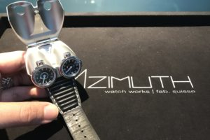 Discussing jewellery and watches eg Azimuth