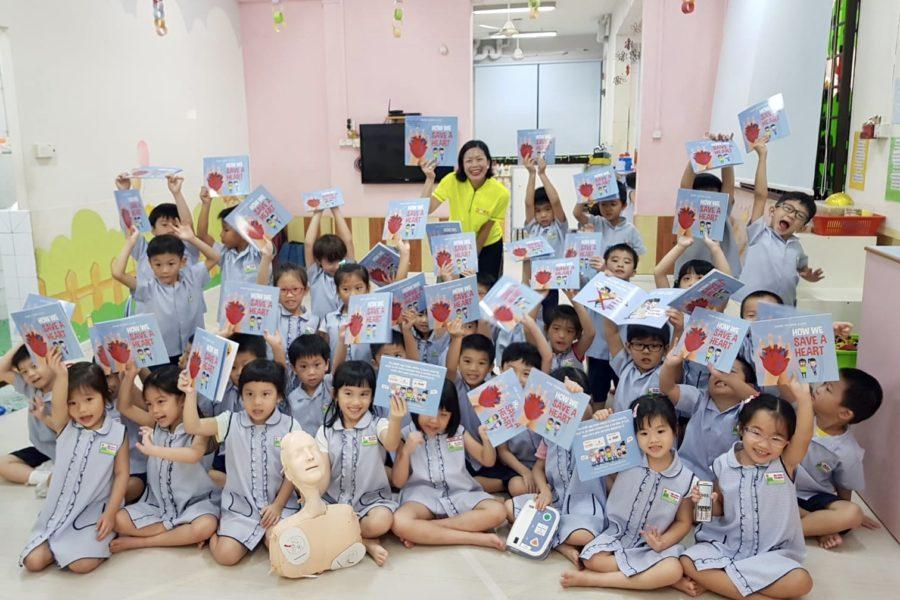 Kindergarten Kids Dare To Save A Heart