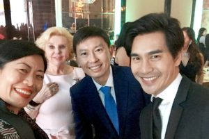 With Mr Chee Hong Tat, GOH for Tux For Tails