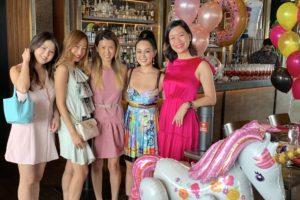 Celebrating Serene Chua's birthday lunch on Good Friday
