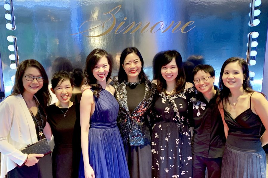 With my residents at Simone Jewels