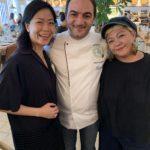 With Chef & World Gourmet Summit PR maven, Dee.