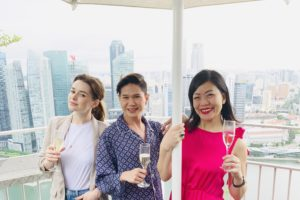 Champagne brunch at Lavo, at the Marina Bay Sands