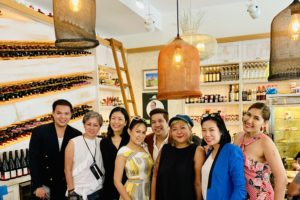 Bakalaki lunch party at the World Gourmet Summit