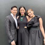 With Matthew Gideon & Sara Ann K, admiring emeralds by Simone