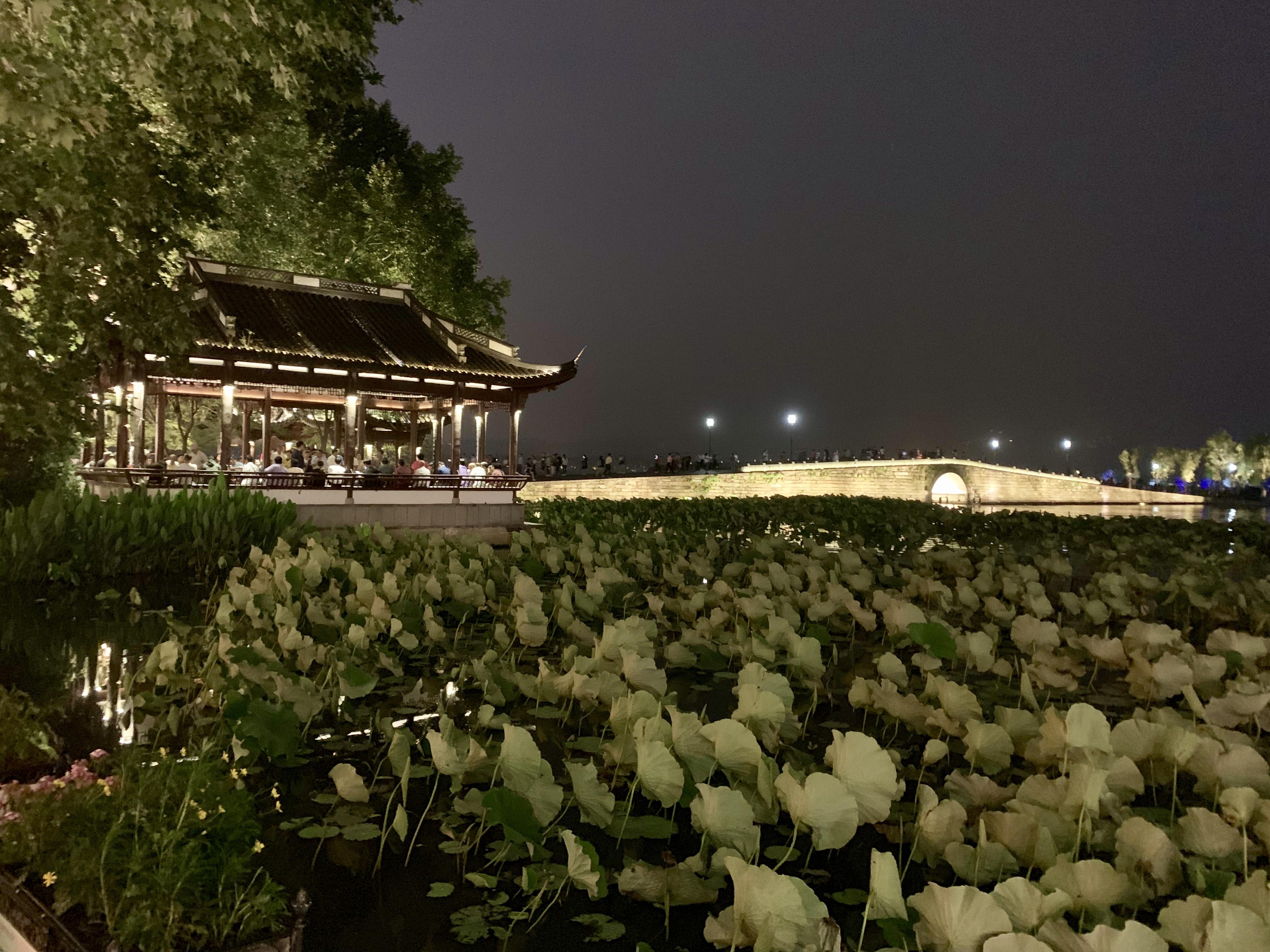 Hangzhou at night