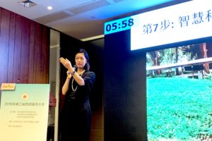 Speaking at a Chinese Conference about how to improve cardiac arrest survival rates