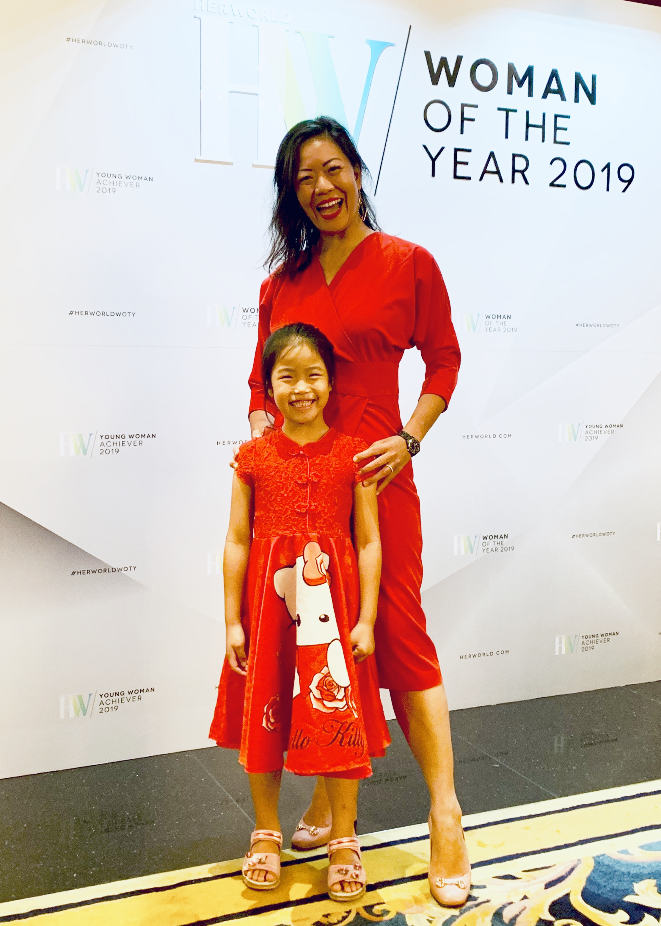 M5 & I attend the Her World 2019 Gala
