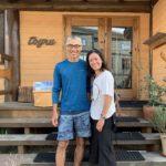 With the boss from Toyru, Hokkaido
