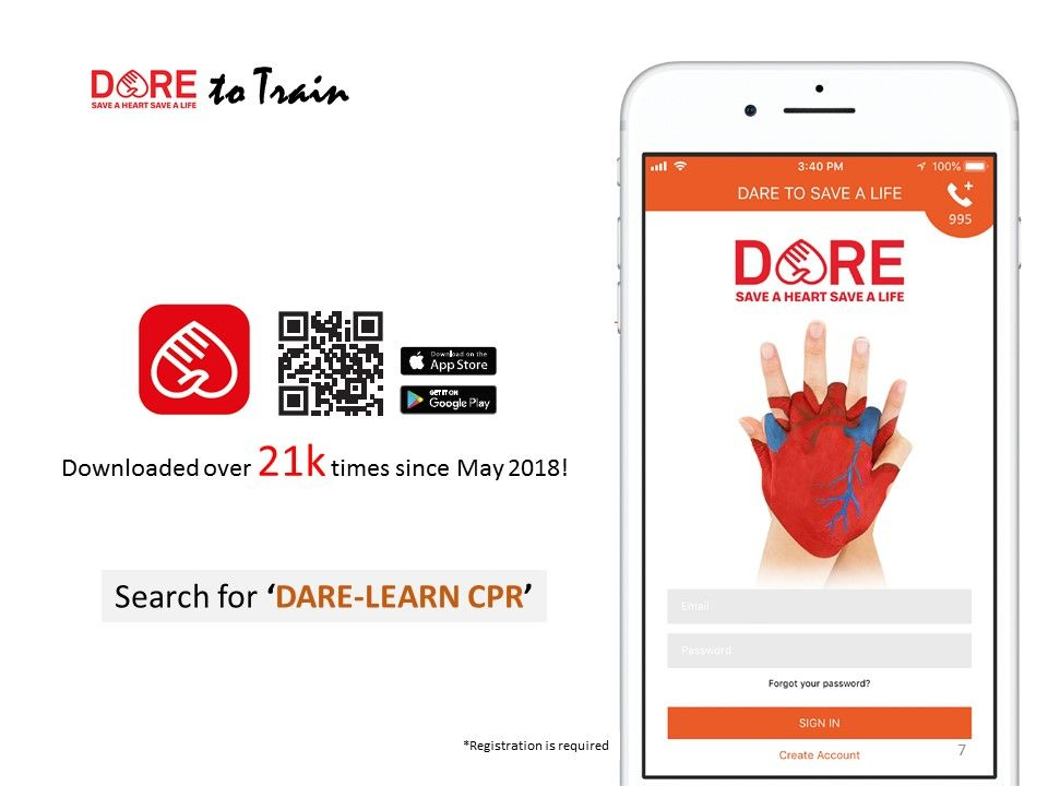 Featuring the DARE app at The Future Of Everyone