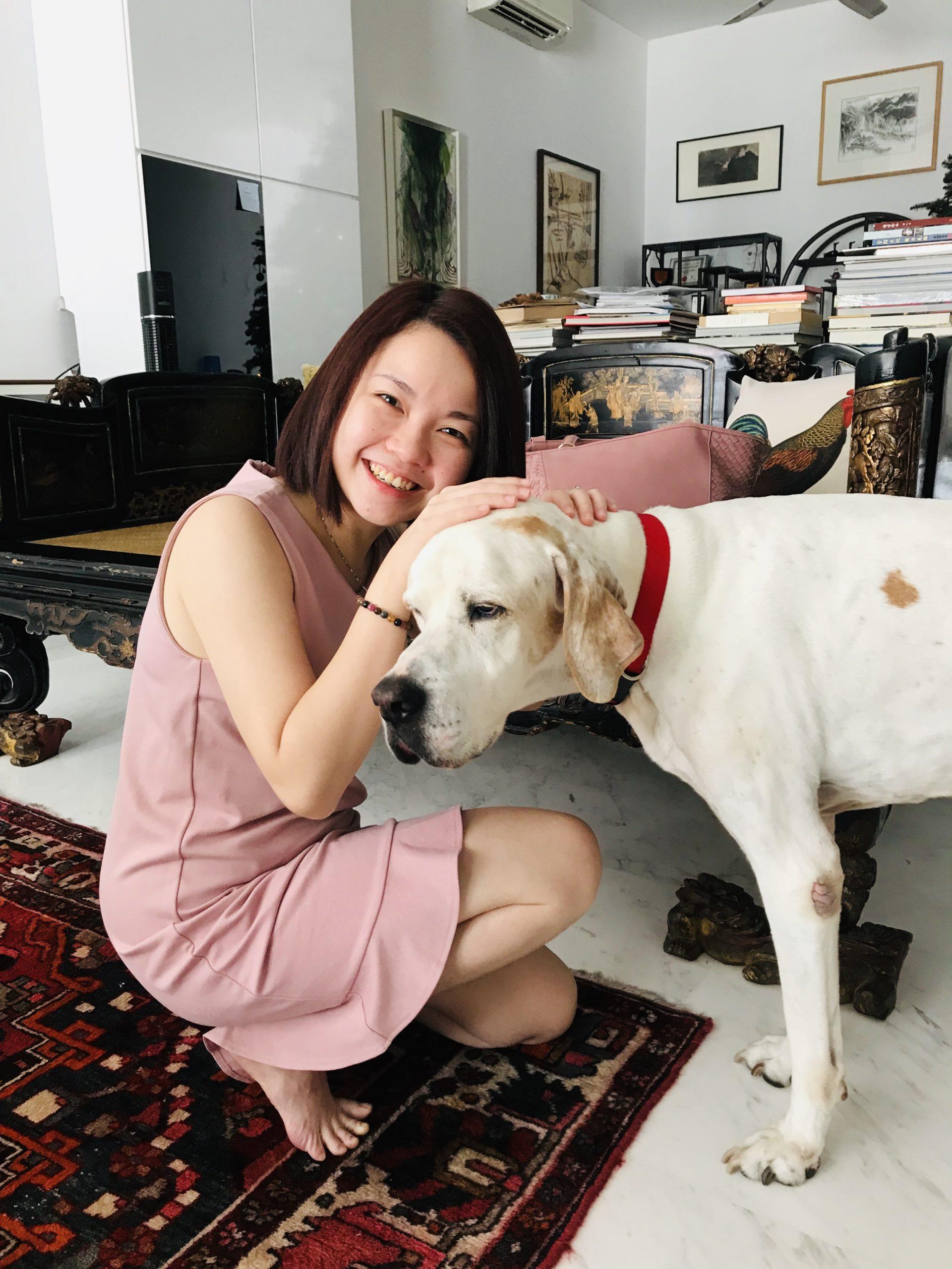 Dr Khoo Su Ann & Dog Dylan