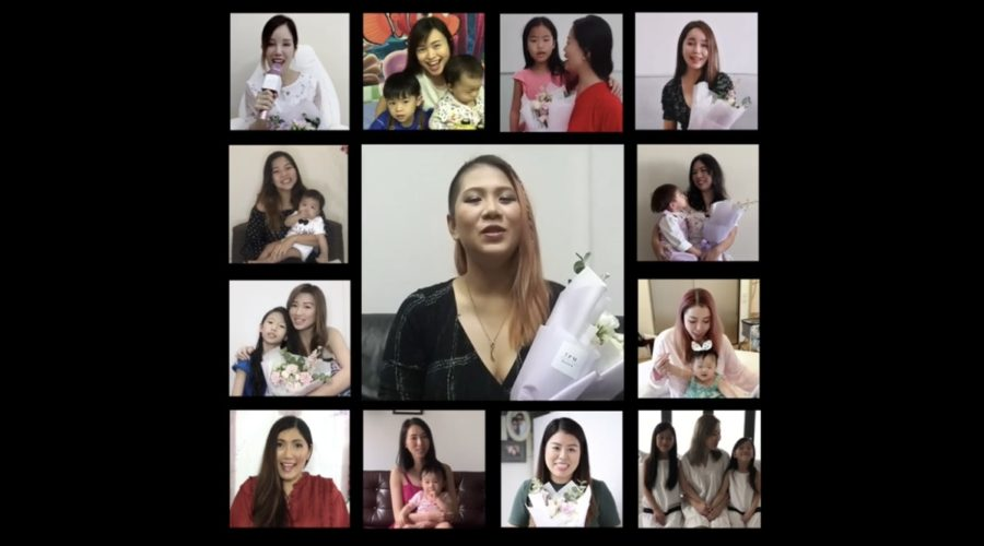 mothers day video while social distancing
