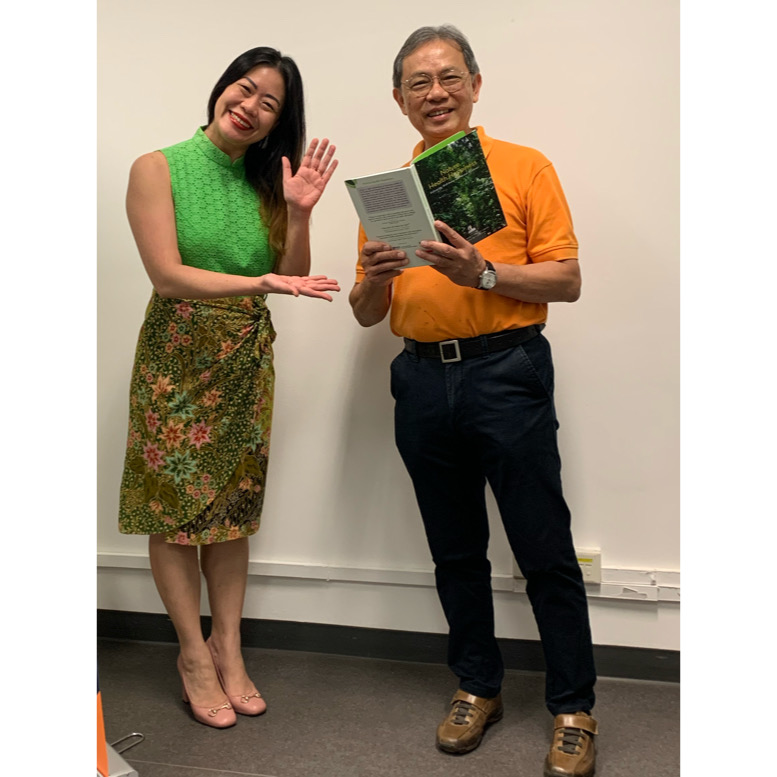 Daddy & I launch a book on the therapeutic forest